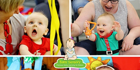 Baby Sensory Workshop - Woodcroft Library tickets
