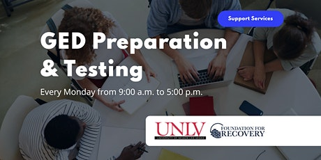 GED Preparation and Testing tickets
