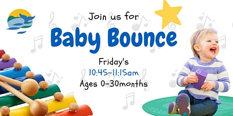 Baby Bounce 2021 - A half hour of movement & fun for kids aged 0-30months tickets