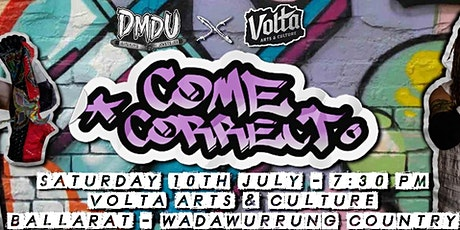 Death Match Downunder - Come Correct tickets