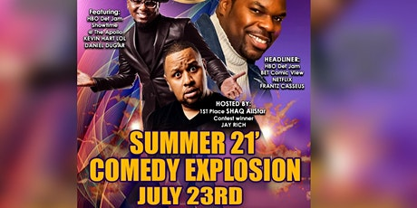 Summer 21' Comedy Explosion tickets