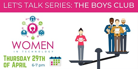Let's Talk Series: The Boys Club tickets