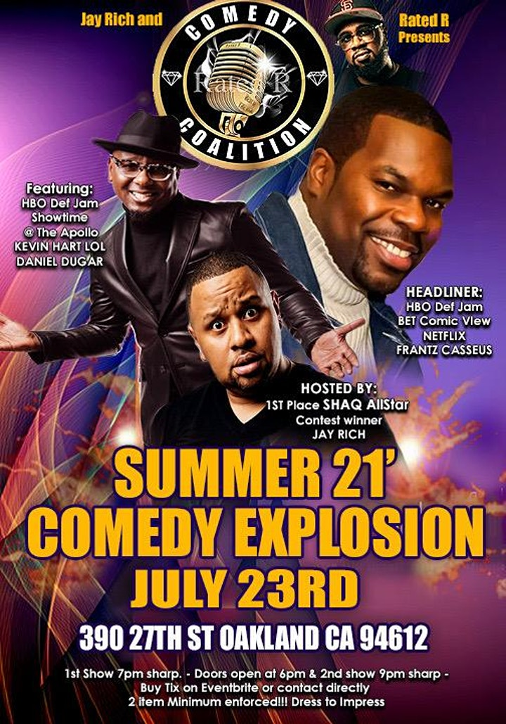 Summer 21' Comedy Explosion image