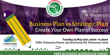 Workshop - Business Plan v Strategic Plan tickets