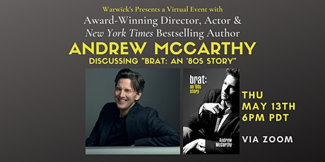 Andrew McCarthy - BRAT: An 80's Story tickets
