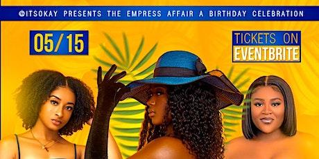 The Empress Affair tickets