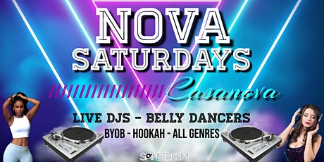 NOVA SATURDAYS - Live DJ - Dancing - Vibes tickets