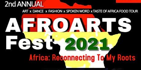 AFROARTS FEST 2021 tickets