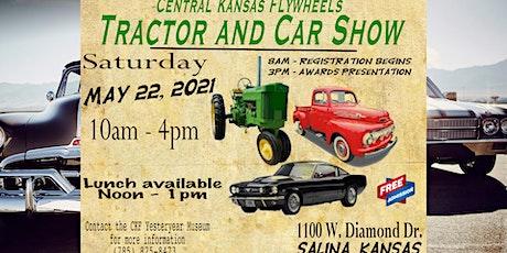 Central Kansas Flywheels Tractor & Car Show tickets