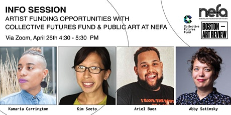 Info Session: Artist Funding Opportunities with Collective Futures Fund & P tickets