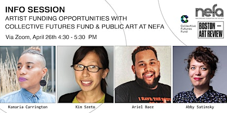 Artist Funding Opportunities: Collective Futures Fund & Public Art at NEFA tickets
