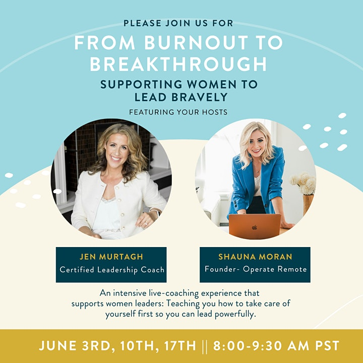 From Burnout to Breakthrough: Supporting Women to Lead Bravely image