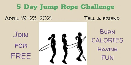 5 Day Jump Rope Challenge tickets