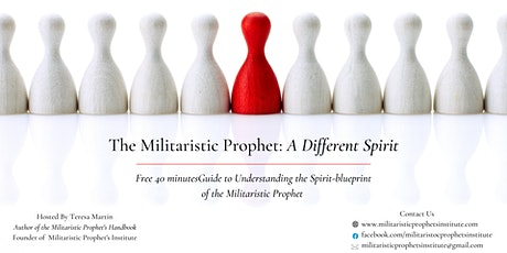 The Militaristic Prophet: A Different Spirit tickets