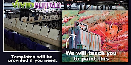 Grain Elevator Sunset Paint Night at Buffalo RiverWorks tickets