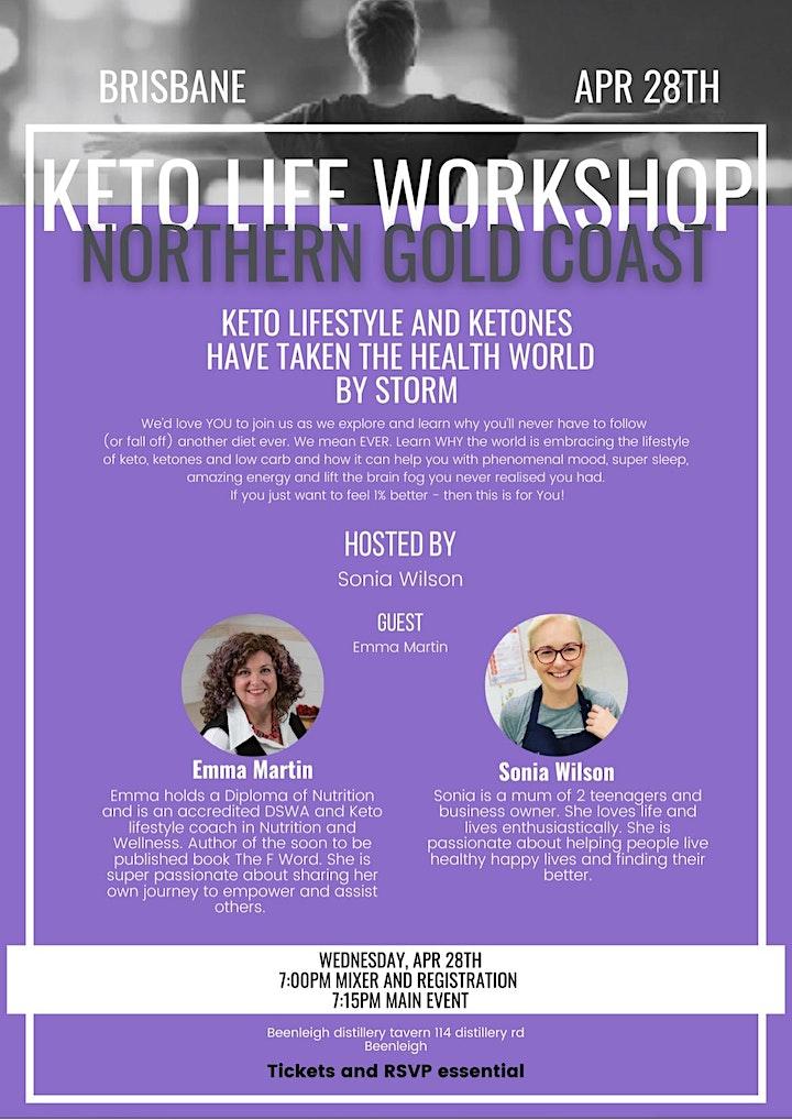 Keto  Life Transformation Workshop image