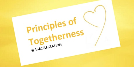 Grow your business or organization with The Principles of Togetherness tickets