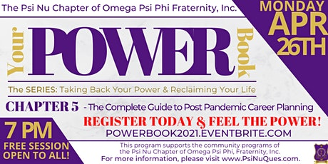Your Power Book Chap 5-The Complete Guide to Post Pandemic Career Planning tickets