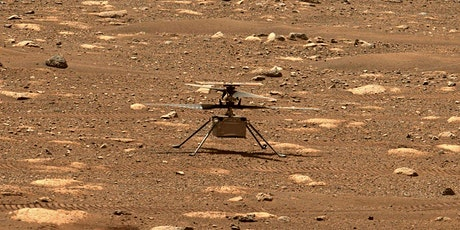 Ingenuity Mars Helicopter: A New Era of Planetary Robotic Exploration? tickets