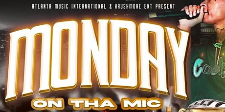 MONDAYS ON THE MIC ... OPEN MIC tickets