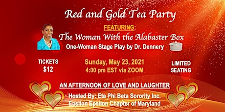 Red and Gold Tea Party tickets
