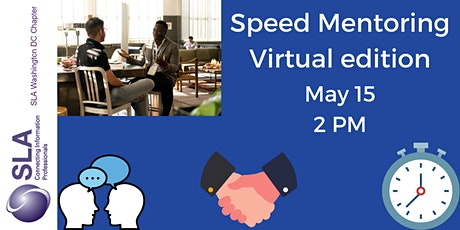 Speed Mentoring with DC SLA: Virtual edition tickets