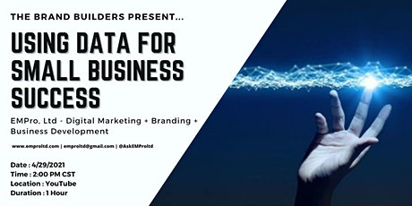 Using Data for Small Business Success tickets