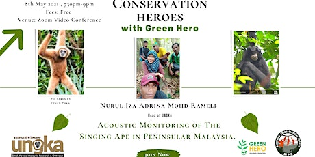 Acoustic Monitoring of The Singing Ape in Peninsular Malaysia. tickets