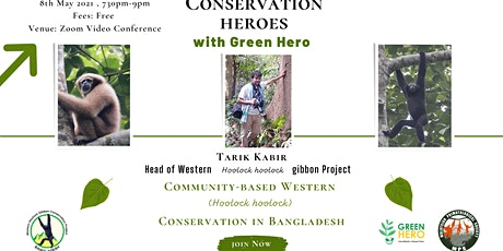 Community-based Western Hoolock Hoolock conservation in Bangladesh tickets