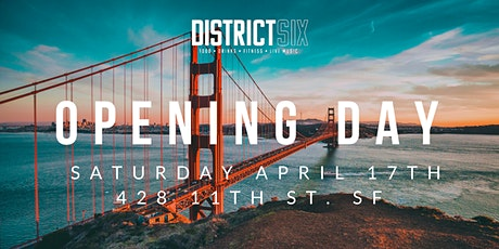 District Six Opening Day tickets