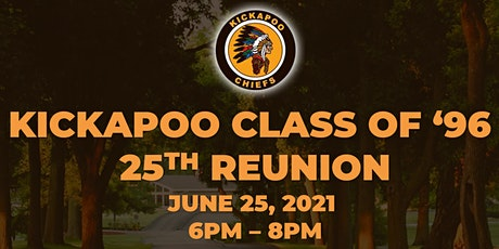 KICKAPOO CLASS of 1996 25th Reunion (Adults Only) tickets