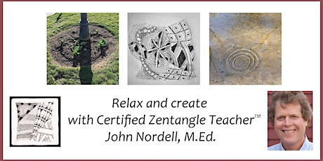 Third Tuesday Tangle - Relax with a Zentangle® Drawing Workshop - 5/18/21 tickets