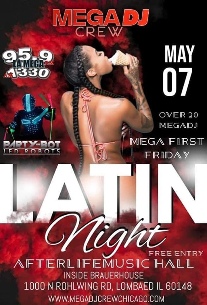FREE EVENT • 95.9 LA MEGA LATIN NIGHT image