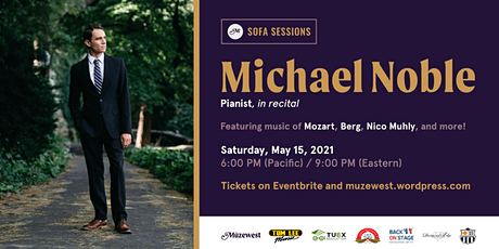 Michael Noble in recital at Müzewest Concerts tickets