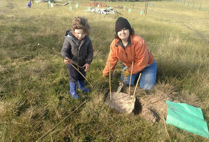 Tree Planting Day at Granum image