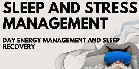 SLEEP AND STRESS MANAGEMENT WITH ESSENTIAL OILS tickets