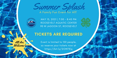 Summer Splash tickets