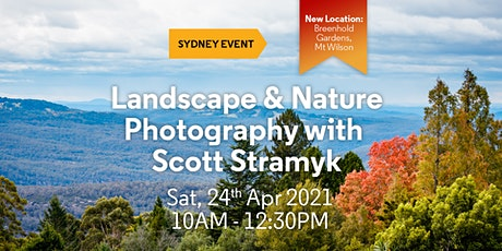 Landscape & Nature Photography workshop with Scott Stramyk - Blue Mountains tickets