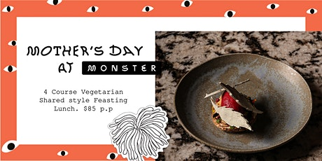 Mother's Day at Monster Kitchen & Bar tickets