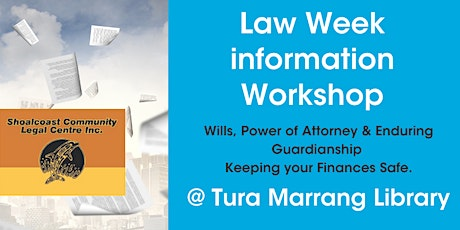 Law Week 2021, Information Workshop tickets