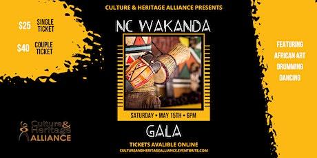 NC Wakanda Gala: Culture & Heritage Alliance tickets
