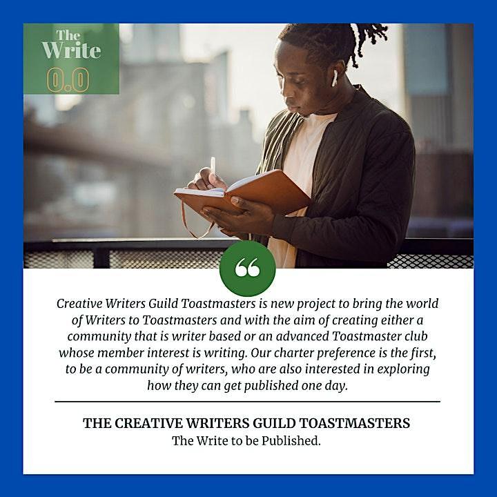 Creative Writers Guild TM Charter Club  [Canada] image