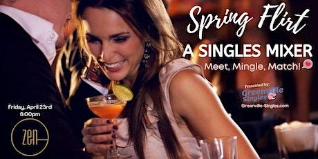SINGLES Mixer at Zen, Spring Flirt! tickets