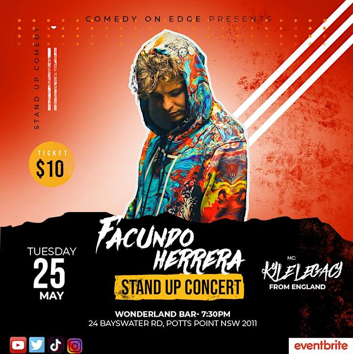 Facundo Herrera - Stand Up Concert image