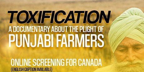 Toxification: Online Screening Canada tickets