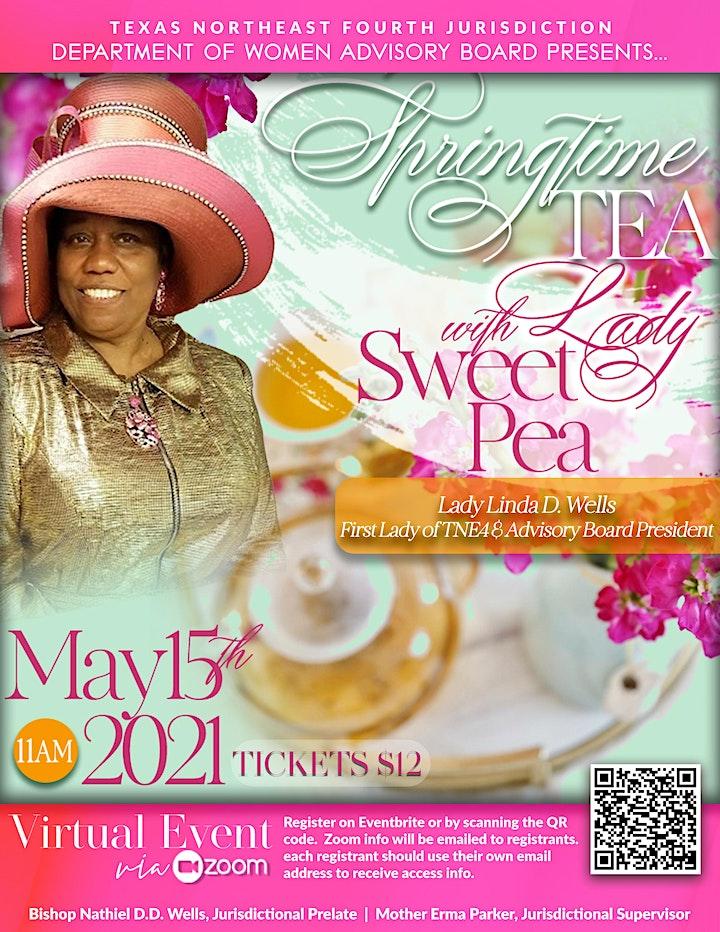 Springtime Tea with Lady Sweet Pea image