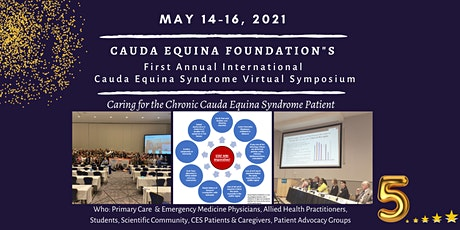 First Annual Cauda Equina Syndrome International Virtual Symposium tickets