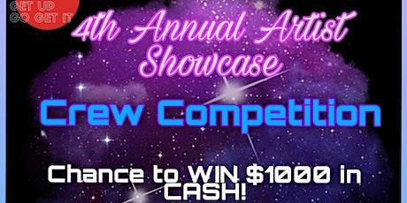4th Annual Artist Showcase Crew Comp. tickets