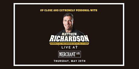 Matthew Richardson LIVE at Merchant Lane, Mornington tickets