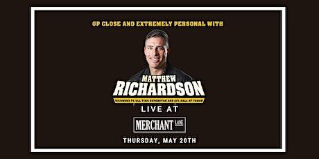 Matthew Richardson LIVE at Merchant Lane, Mornington tickets